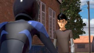 杰克不希望被机器人跟着