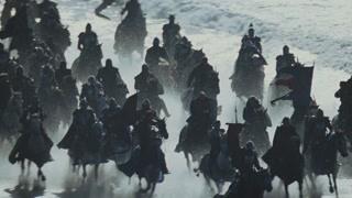 威严军队进攻皇宫