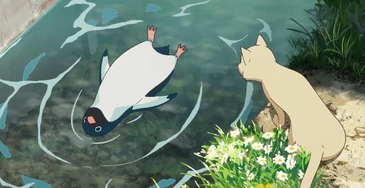 """《企鹅公路》""""企鹅出没""""片段"""