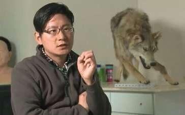 《狼图腾》制作特辑 揭秘动物演员真假神秘面纱