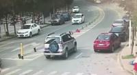 深圳一女子横穿马路被越野车撞倒碾压 送医途中身亡