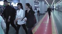 61岁赵雅芝时尚现身机场 不老女神依旧容光焕发