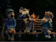 《摇滚藏獒》原片片段 Rock动物城