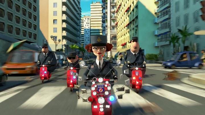 """马达加斯加3 片段4: """"Car Chase"""""""