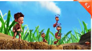 小男孩和蚂蚁们的比赛