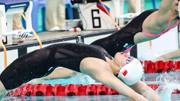 全国夏季游泳锦标赛 傅园慧夺得女子100米仰泳冠军
