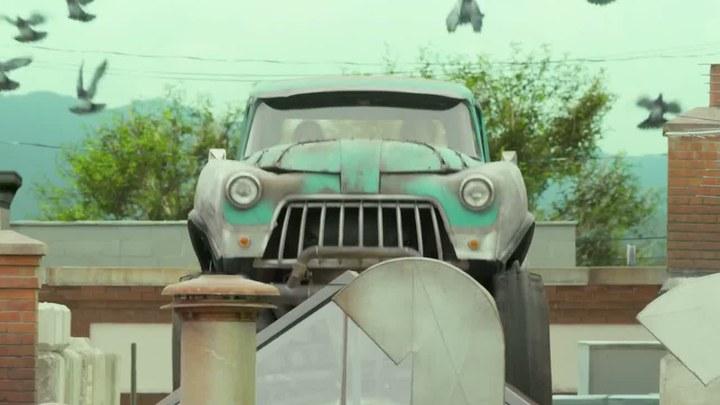 怪兽卡车 片段3:飞檐走壁 (中文字幕)