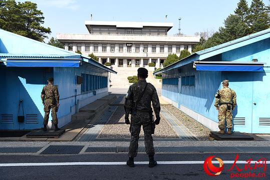 组图:人民网记者独家探访朝韩第三次首脑会晤地