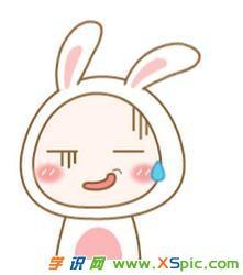 表情 简笔画兔子表情图片 表情