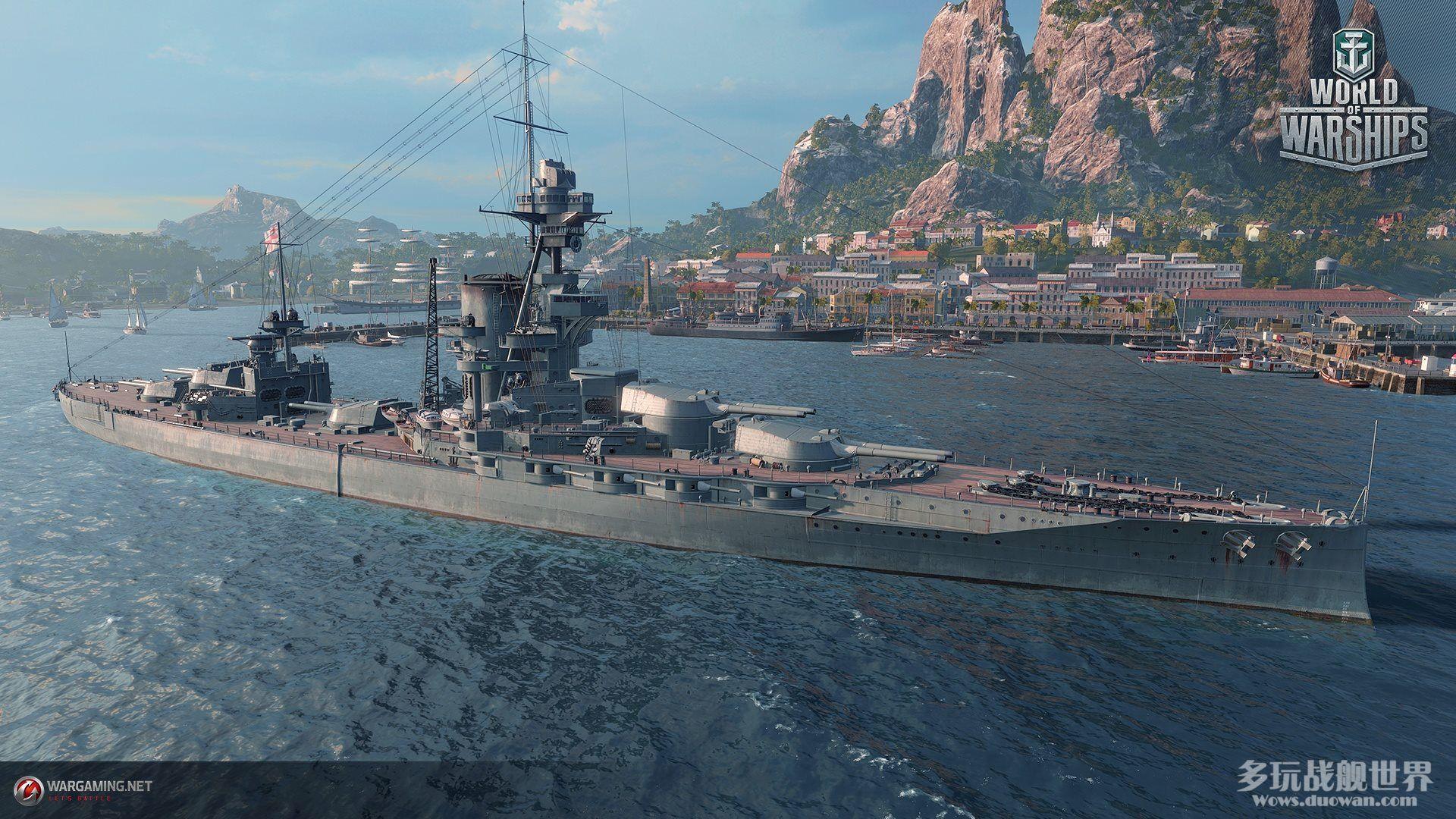 一炮一个毒瘤怪,英系十级战列舰主炮解析,伤害说了算