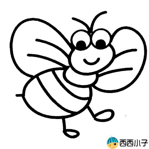 表情 小蜜蜂卡通图片简笔画 格格 表情