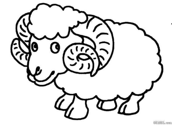 表情 卡通犀牛简笔画 幼儿卡通动物简笔画 61幼儿网 表情