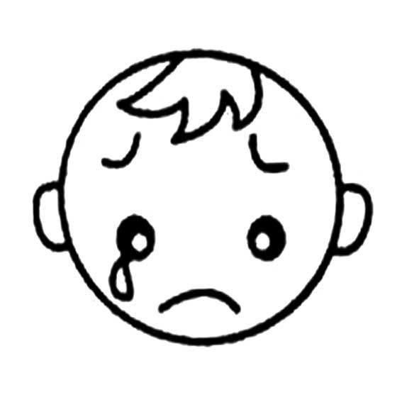 表情 哭简笔画表情图片大全 12张 表情图片 表白句 表情