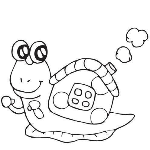 表情 蜗牛图片卡通灰色 图片大全 表情