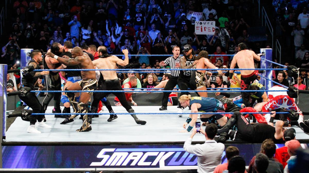 表情 WWE2017年11月22日 SD美国职业摔角最新赛事 wwe008 表情