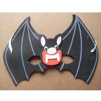 表情 万圣节饰品 蝙蝠卡通面具 万圣节饰品 蝙蝠卡通面具怎么样 价格 PCbaby母  表情