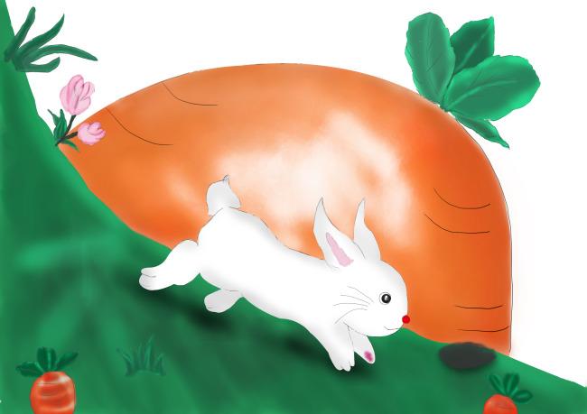 表情 画兔子 画小兔子 就要健康网 表情