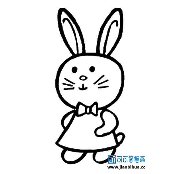 表情 简笔画小兔子图片小兔子简笔画兔子图片卡通简笔画兔子图片大全小  表情