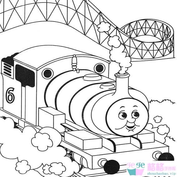 表情 火车简笔画 托马斯卡通小火车简笔画图片 格格 表情