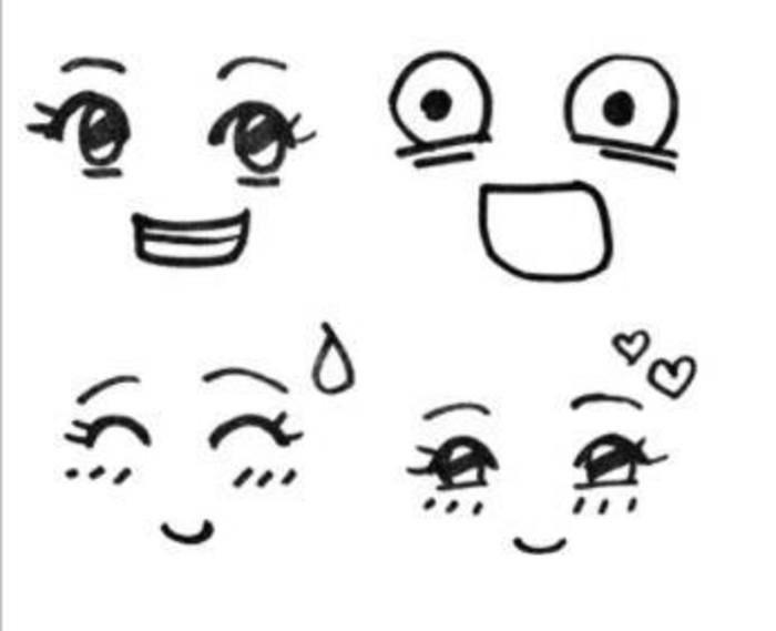 表情 手绘小表情 第1页 一起QQ网 表情图片