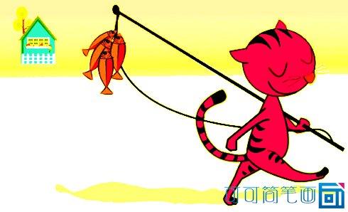 表情 小猫钓鱼简笔画 小猫动物头像简笔画 高清图片新闻 影视搜索 表情