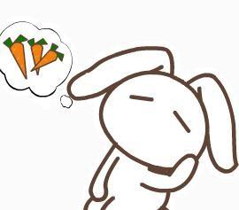 表情 简笔画兔子表情图片 学习啦 表情