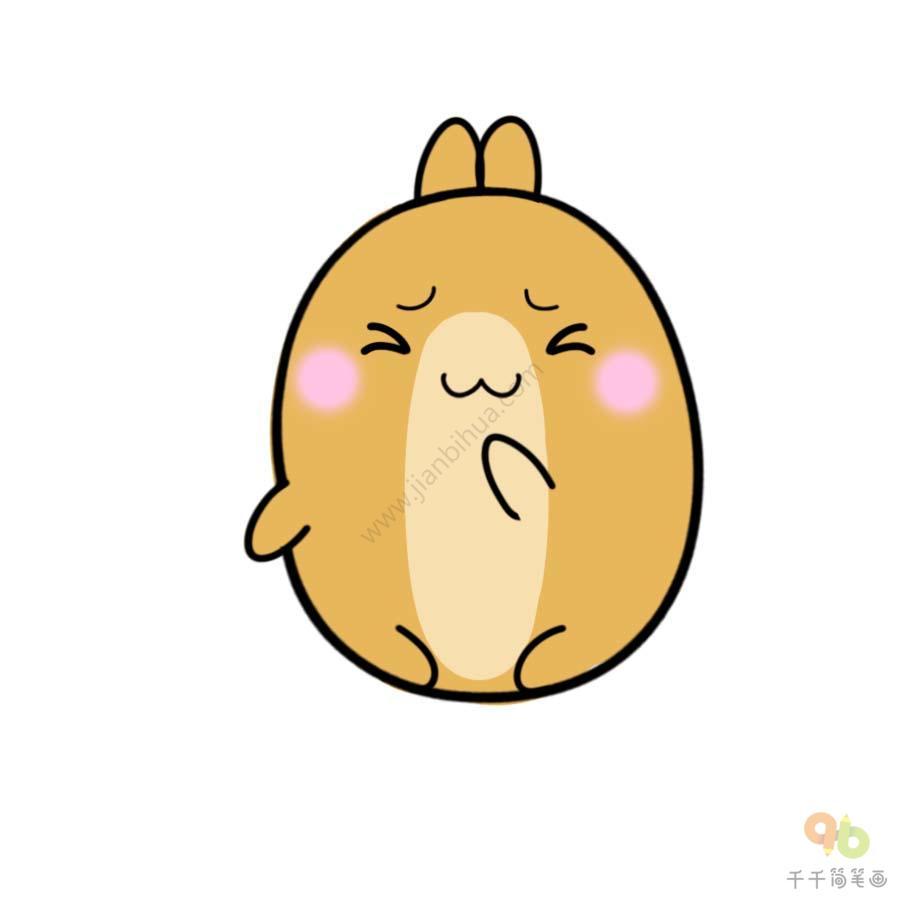 表情 土豆兔忍住不笑表情包 表情包 千千简笔画 表情