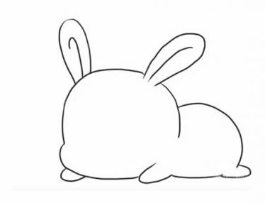 表情 可爱小兔子简笔画步骤 幼儿园孩子喜欢的兔子简笔画 适合孩子画的简单呆  表情