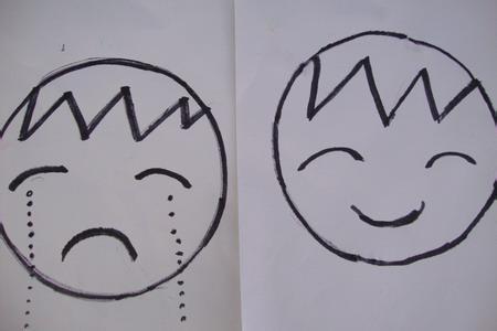 表情 笑的表情简笔画 哭的表情简笔画 笑的表情简笔画笑脸 大笑表情简