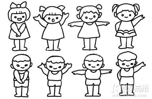表情 家有幼儿,我爱简笔画 学前教育 小学教育 杭州19楼 表情