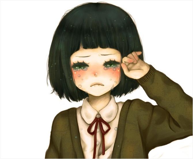表情 刘海剪太短怎么办7个妙招轻松挽救失败刘海 精品网 表情