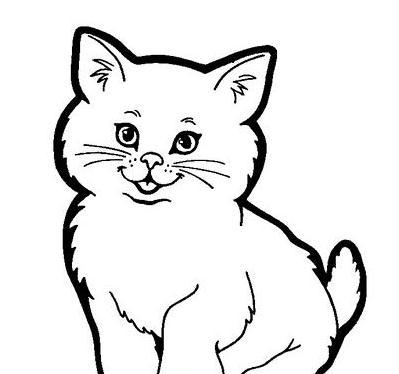 表情 小猫咪的简笔画图片有哪些 学习啦 表情