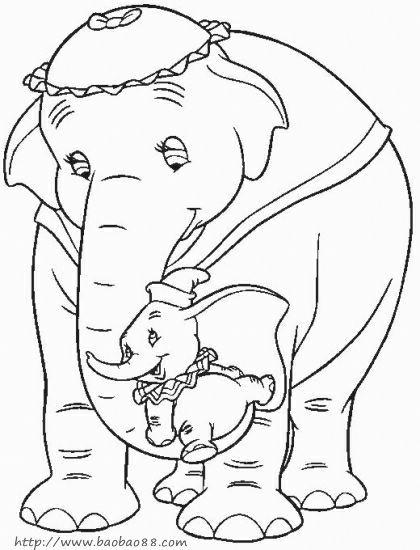 表情 可爱卡通动漫简笔画 长鼻子大象简笔画 可爱卡通动漫简笔画 长鼻子大象  表情