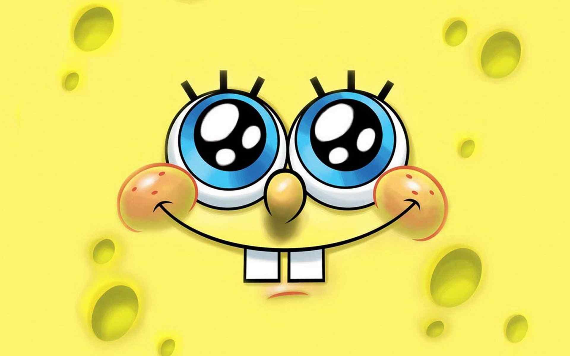 表情 海绵宝宝 搞笑开心的海绵块 海绵宝宝动画动漫壁纸 桌面天下 Desktx.com 表情图片