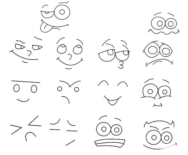 表情 简笔画表情图片 18张 3 表情图片 表白图片网 表情
