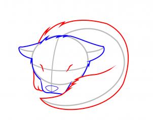 表情 如何画睡觉的狼简笔画 动物简笔画 美术必学课 表情