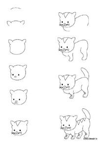 表情 可爱的小动物简笔画6张 韩剧迷 表情