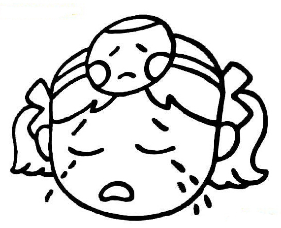 表情 哭的表情图片简笔画 18张 表情图片 表白图片网 表情