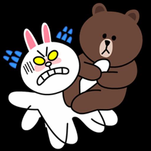 表情 韩国熊和兔子图片 图片大全 表情
