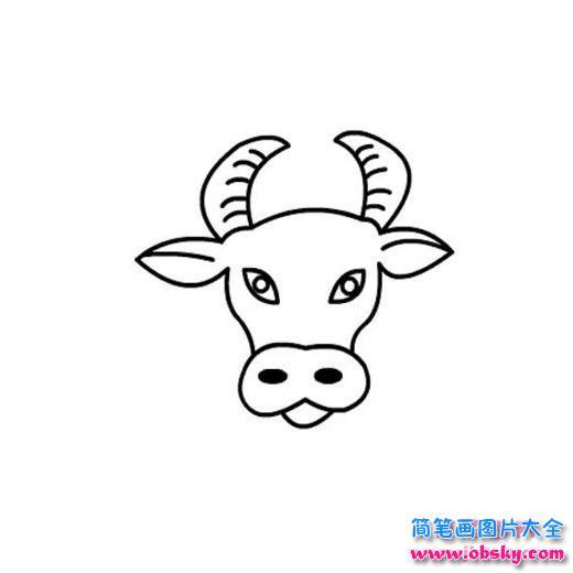 情 幼儿园牛头简笔画图片 简笔画小牛 儿童简笔画图片大全 表情