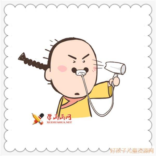 表情 搞笑简笔画尔康表情 人物简笔画 ertongzy.com 表情