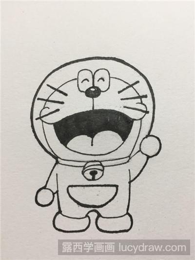 表情 叮当猫简笔画 露西学画画 表情