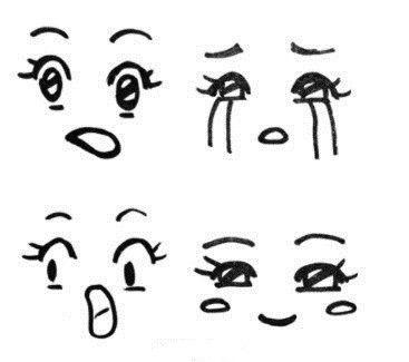 表情 手绘小表情,写日记必备 表情图片