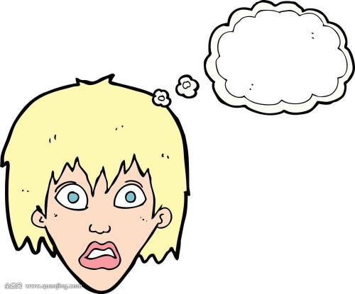 表情 漫画女生害怕表情 表示害怕的图片 表情简笔画 害怕gif 游戏屋 表情