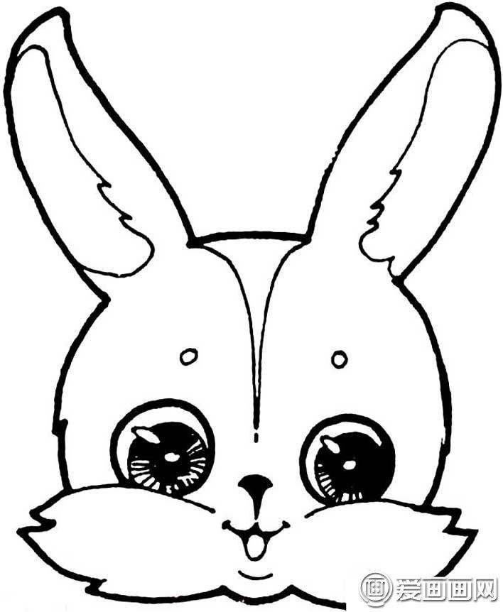 表情 可爱的兔子简笔画图片大全,15只各种各样的卡通简笔画兔子图片 龙轩美术网 表情