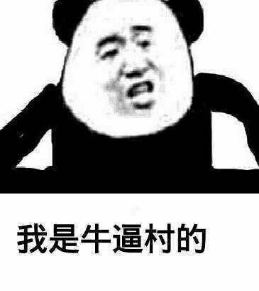 表情 我是牛逼村的 熊猫斗图啦 斗图大会 金馆长表情库 真正的斗图  表情