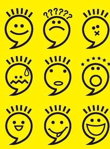 表情 简笔画表情符号图案 18张 2 表情图片 表白图片网 表情