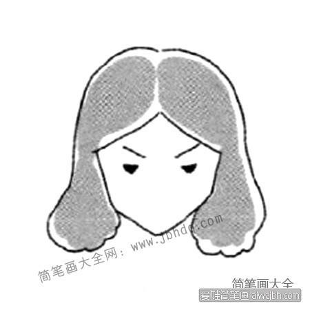 表情 生气的表情简笔画教程– 爱娃简笔画 表情