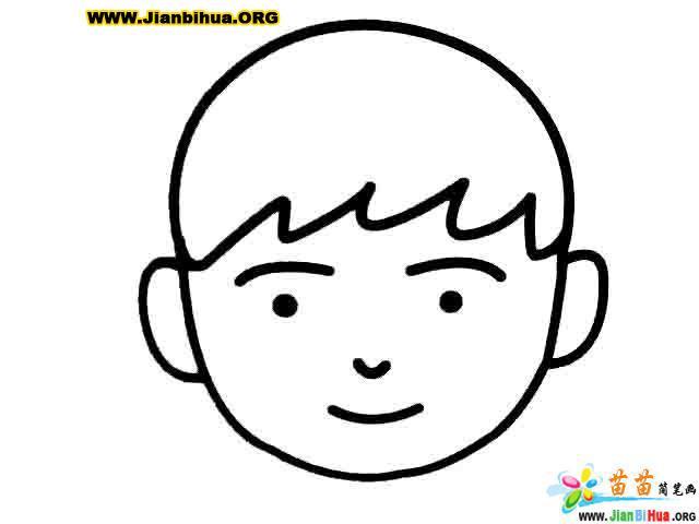 不开心简笔画-表情 www.Jianbihua.ORG 表情