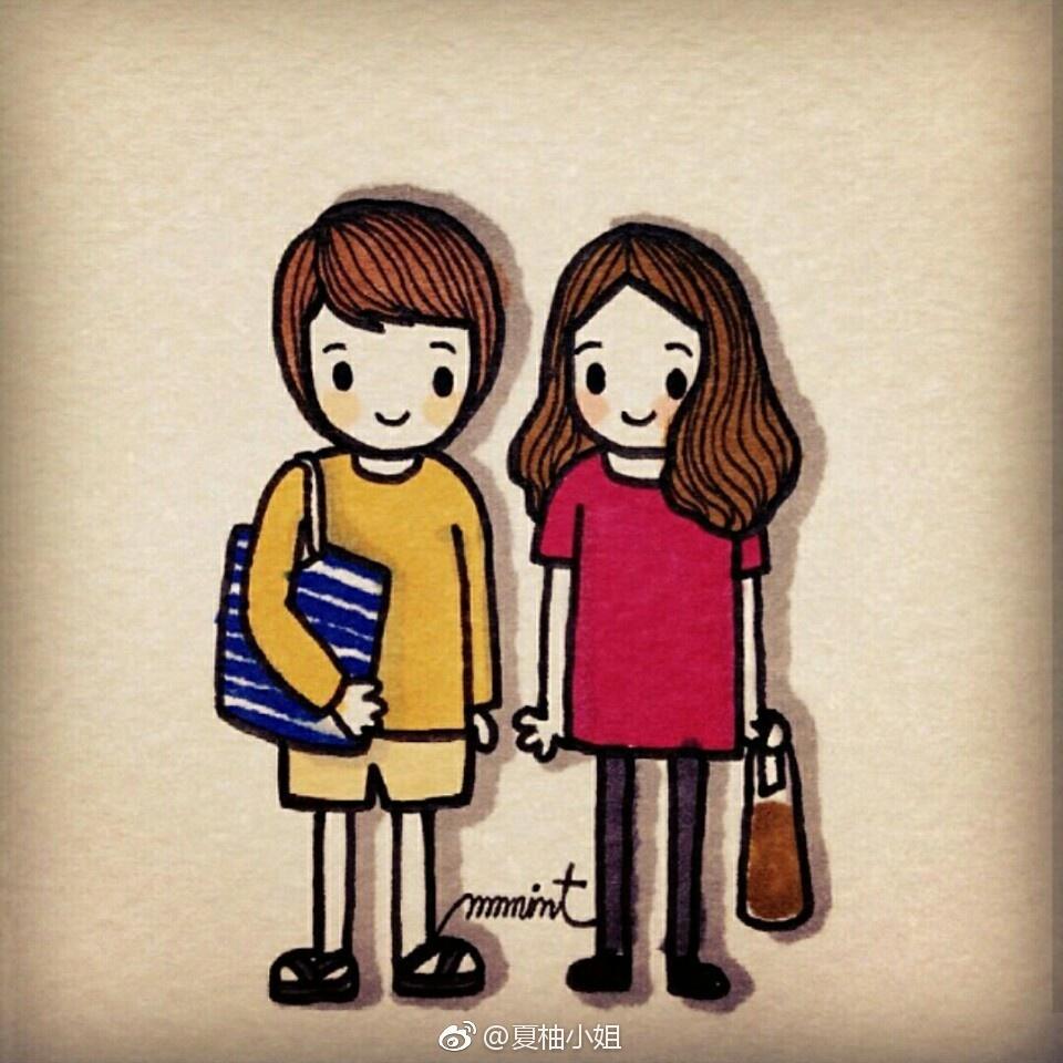 表情 萌萌哒小女孩的日常简笔画 简约型文化普通难度 插画 千千简笔画